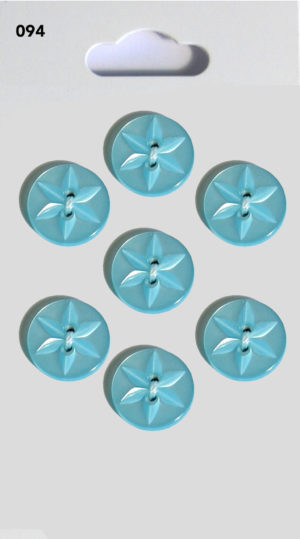 Buttons ROUND STAR BUTTONS – BLUE – 094
