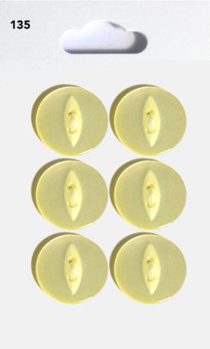 Buttons FISHEYE BUTTONS – LEMON – 135