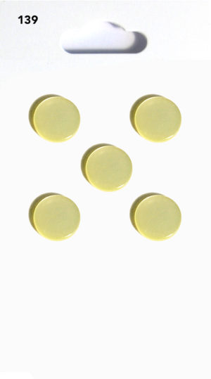 Buttons DOMED BUTTONS – LEMON – 139