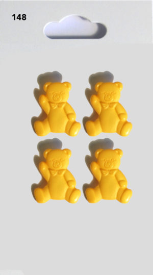 Buttons TEDDY BUTTONS – YELLOW – 148