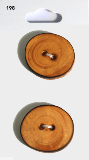 Buttons ROUND BUTTONS – WOOD EFFECT – 198