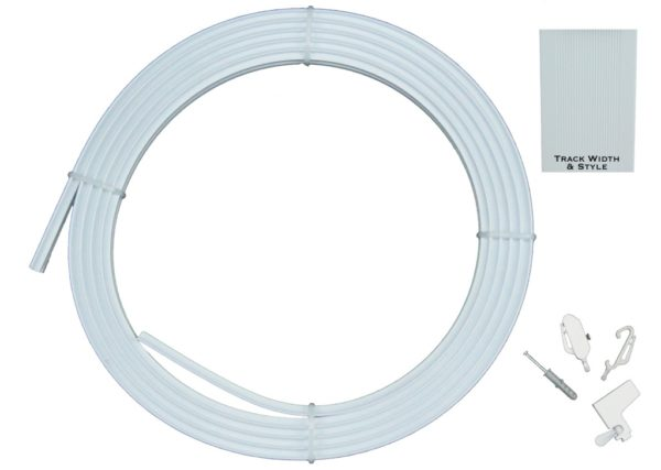 Curtain Accessories COILED CURTAIN TRACK SET