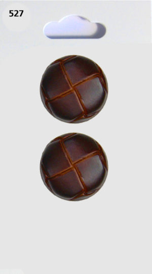 Buttons ROUND BUTTON – LEATHER EFFECT – 528