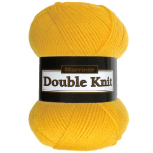 Knit & Sew MARRINER YARNS DOUBLE KNIT 100G MUSTARD x