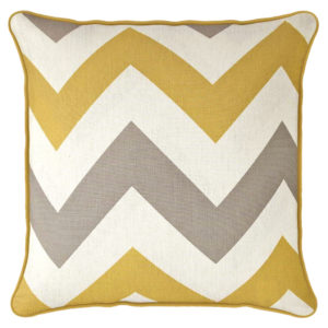 Cushions CHEVRON CUSHION COVERS OCHRE