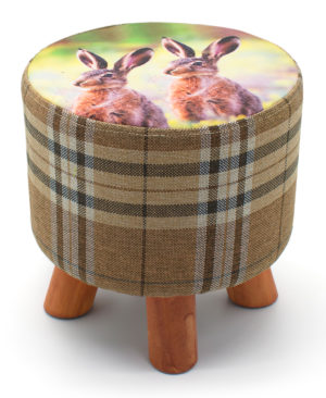 Household ANIMAL FOOT STOOL RABBITS