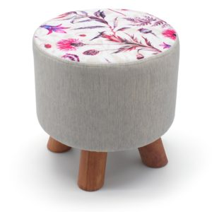 Footstools WILDFLOWER FLORAL FOOT STOOLS
