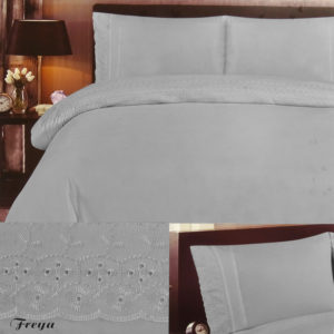 Bedding FREYA DUVET SET GREY
