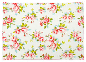 Kitchen & Dining PLACEMAT PINK FLORAL