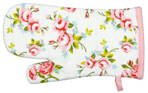 Kitchen & Dining SINGLE GLOVE PINK FLORAL