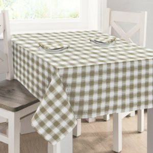 Kitchen & Dining SEERSUCKER TABLECLOTH NATURAL