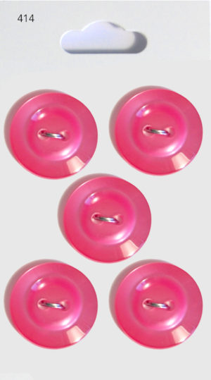 Buttons RIMMED BUTTONS – PINK – 414