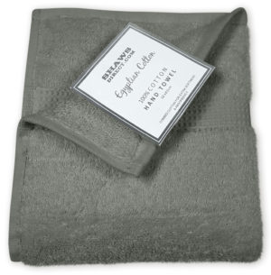 PLAIN EGYPTIAN TOWELS GREY