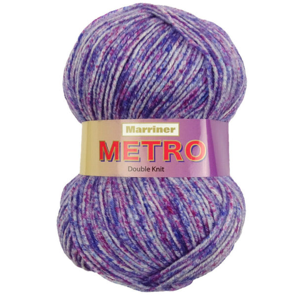 Knit & Sew MARRINER  METRO DK 100g Lilac Mix
