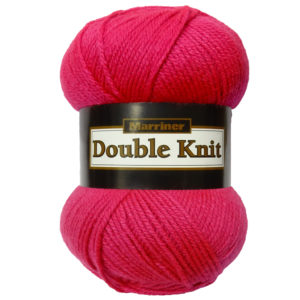 Knit & Sew MARRINER YARNS DOUBLE KNIT 100G HIBISCUS
