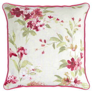 Cushion Covers JEANNIE FLORAL CUSHION COVER RED