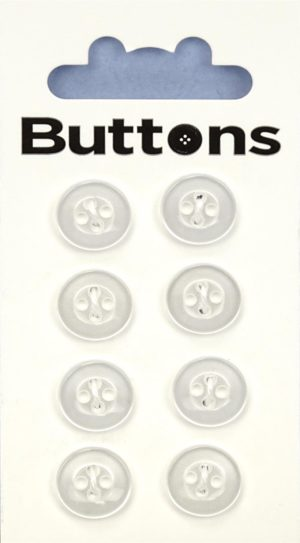 Buttons RIMMED BUTTONS – CLEAR – 022