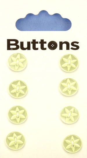 Buttons ROUND STAR BUTTONS – 137 – YELLOW