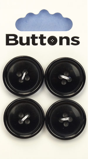 Buttons RIMMED BUTTONS – 207 – BLACK