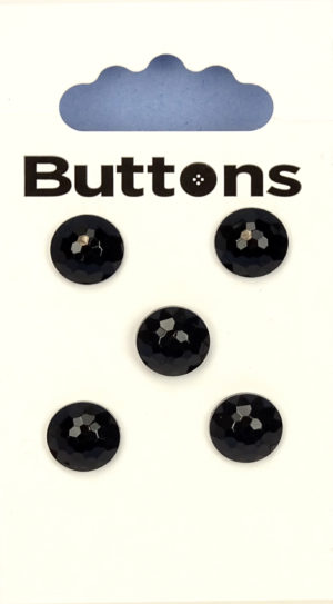 Buttons DOMED BUTTONS – 224 – BLACK