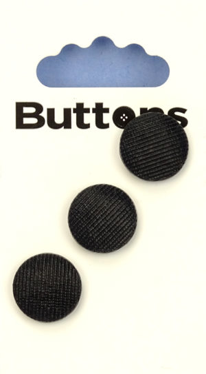 Buttons DOMED BUTTONS – 243 – BLACK