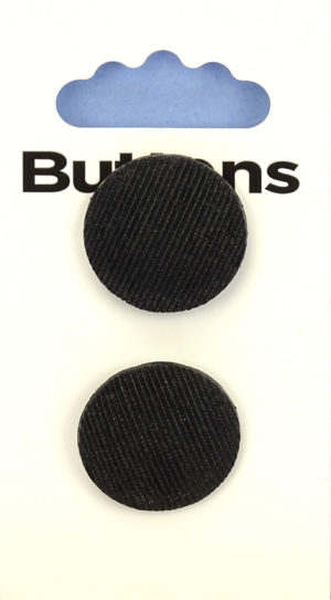 Buttons DOMED BUTTONS – 244 – BLACK