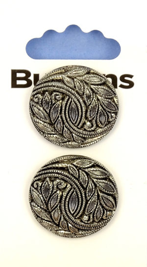 Buttons DOMED BUTTONS – 261 – METAL EFFECT
