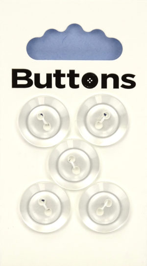 Buttons RIMMED BUTTONS – 270 – METAL EFFECT