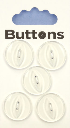 Buttons FISHEYE BUTTONS – 327 – CLEAR