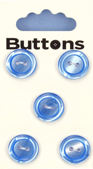 Buttons RIMMED BUTTONS – 369 – BLUE