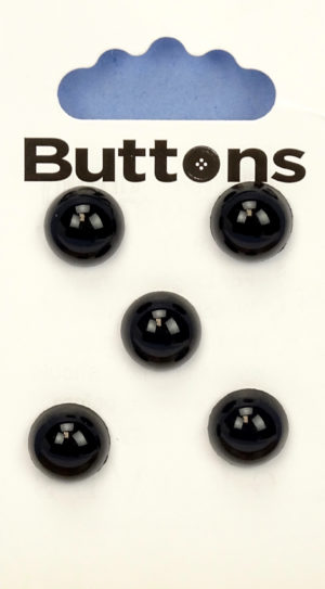 Buttons DOMED BUTTONS – 499 – BLACK