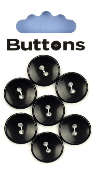 Buttons ROUND BUTTONS – 507 – BLACK
