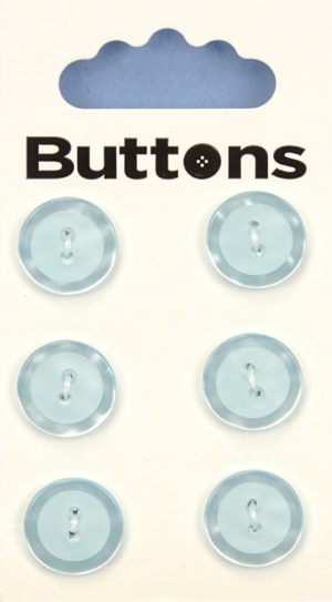 Buttons RIMMED BUTTONS – 630 – BLUE