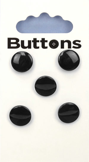 Buttons ROUND BUTTONS – 765 – BLACK