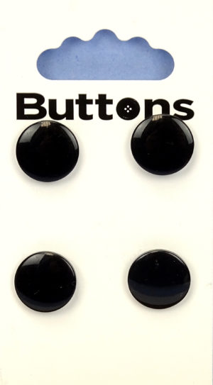 Buttons ROUND BUTTONS – 766 – BLACK