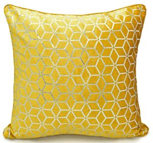 Cushion Covers VERA CUSHION COVER OCHRE
