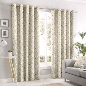 Curtains AURA NATURAL RING TOP CURTAINS