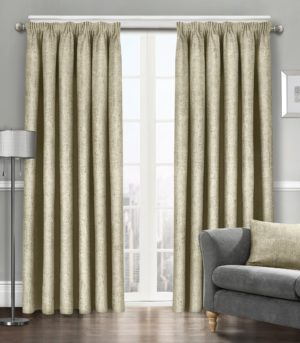 Curtains WESTWOOD DIMOUT THERMAL CURTAINS LATTE