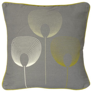 Cushions DELTA GREY CUSHION COVER