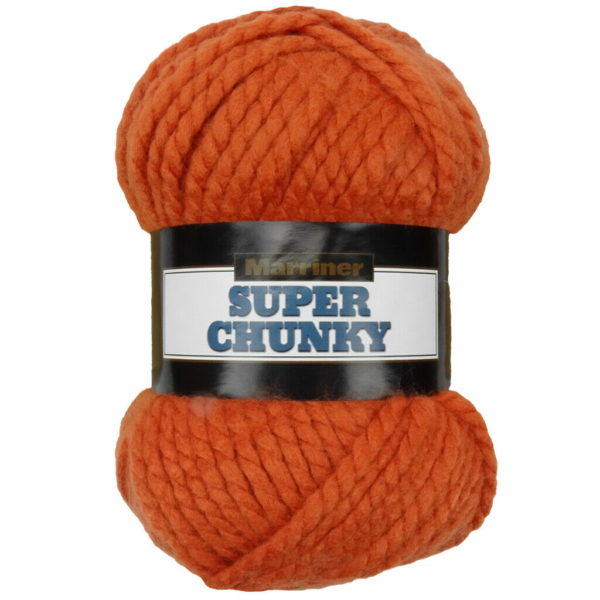 Knit & Sew MARRINER SUPER CHUNKY 100G SPICE