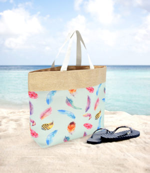 Household FEATHERS BEACH BAG – MPT 4