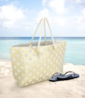 Household CALICO SHELL BEACH BAG – MPT 10