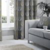 Curtains DELTA GREY RING TOP CURTAINS