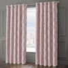 Curtains ONYX RING TOP CURTAINS BLUSH PINK