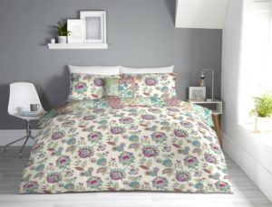 Bedding MARINELLI REVERSIBLE QUILT COVER SET