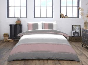Bedding BETLEY QUILT COVER SET BLUSH