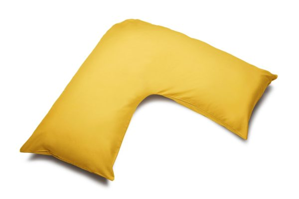 Bedding ORTHOPAEDIC 'V' PILLOWCASE SAFFRON
