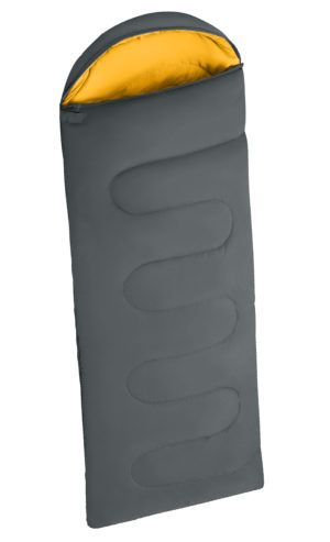 Household SLEEPING BAG CHARCOAL