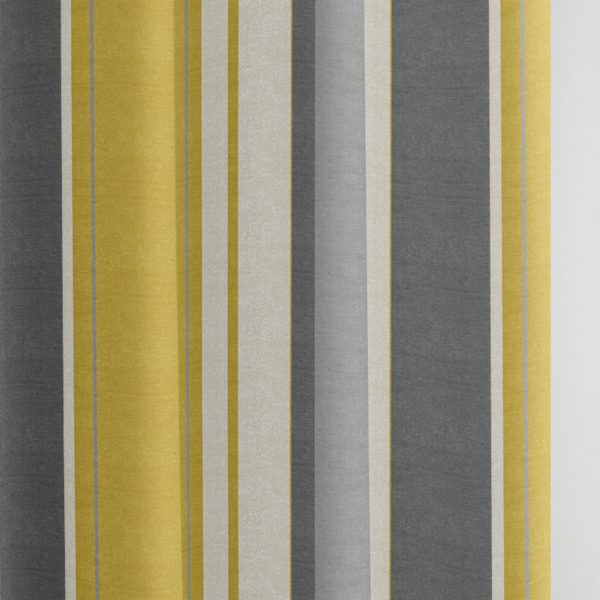 WHITWORTH RING TOP CURTAINS OCHRE