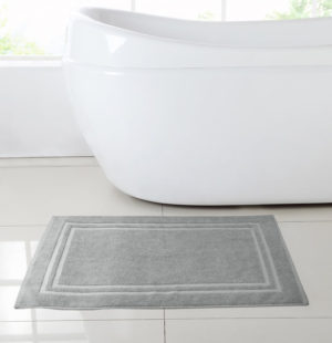 Bathmats HOTEL COTTON BATH MAT GREY